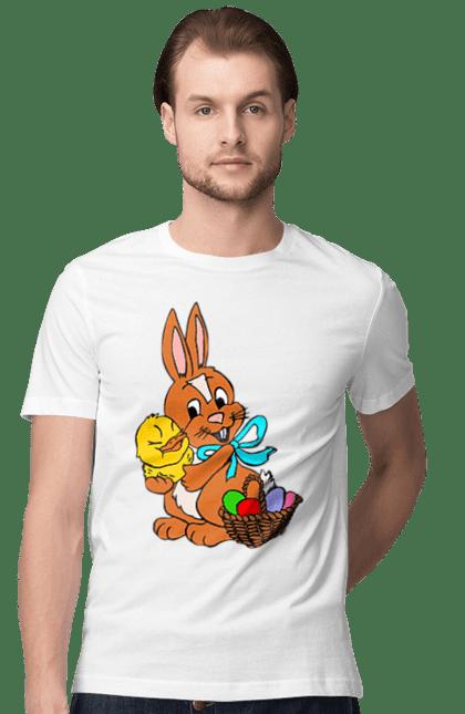 Великодній Заєць З Курчам І Кошики