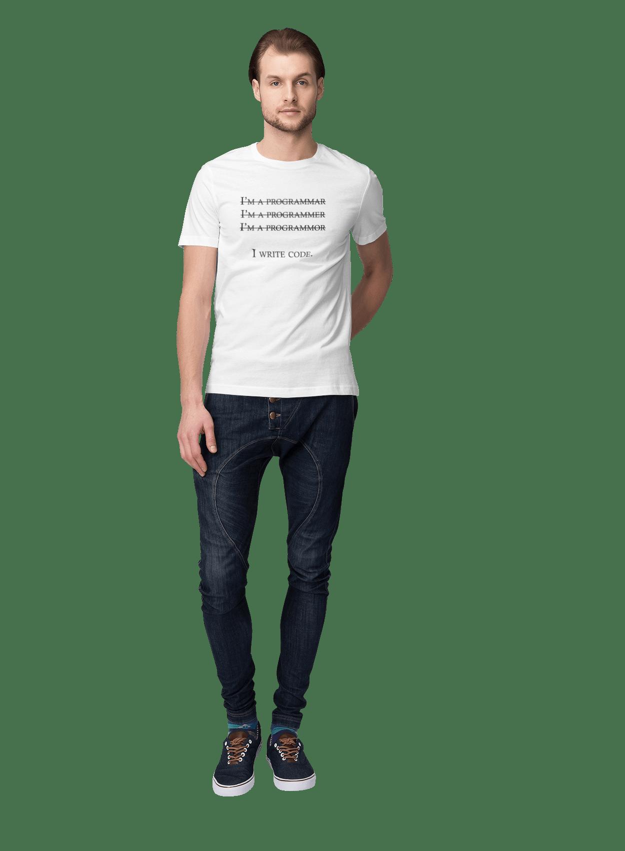Я Пишу Код, Програміст, Чорний