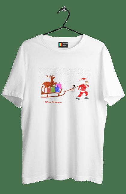 Санта з подарунками