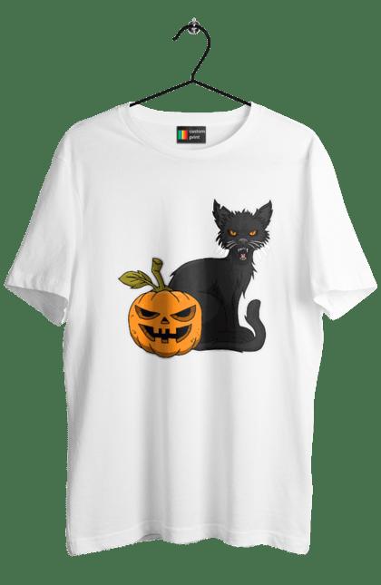 Злий кіт з гарбузом