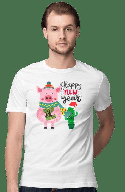 Свинка з подарунком