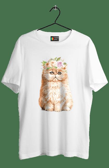 Руде котеня у вінку
