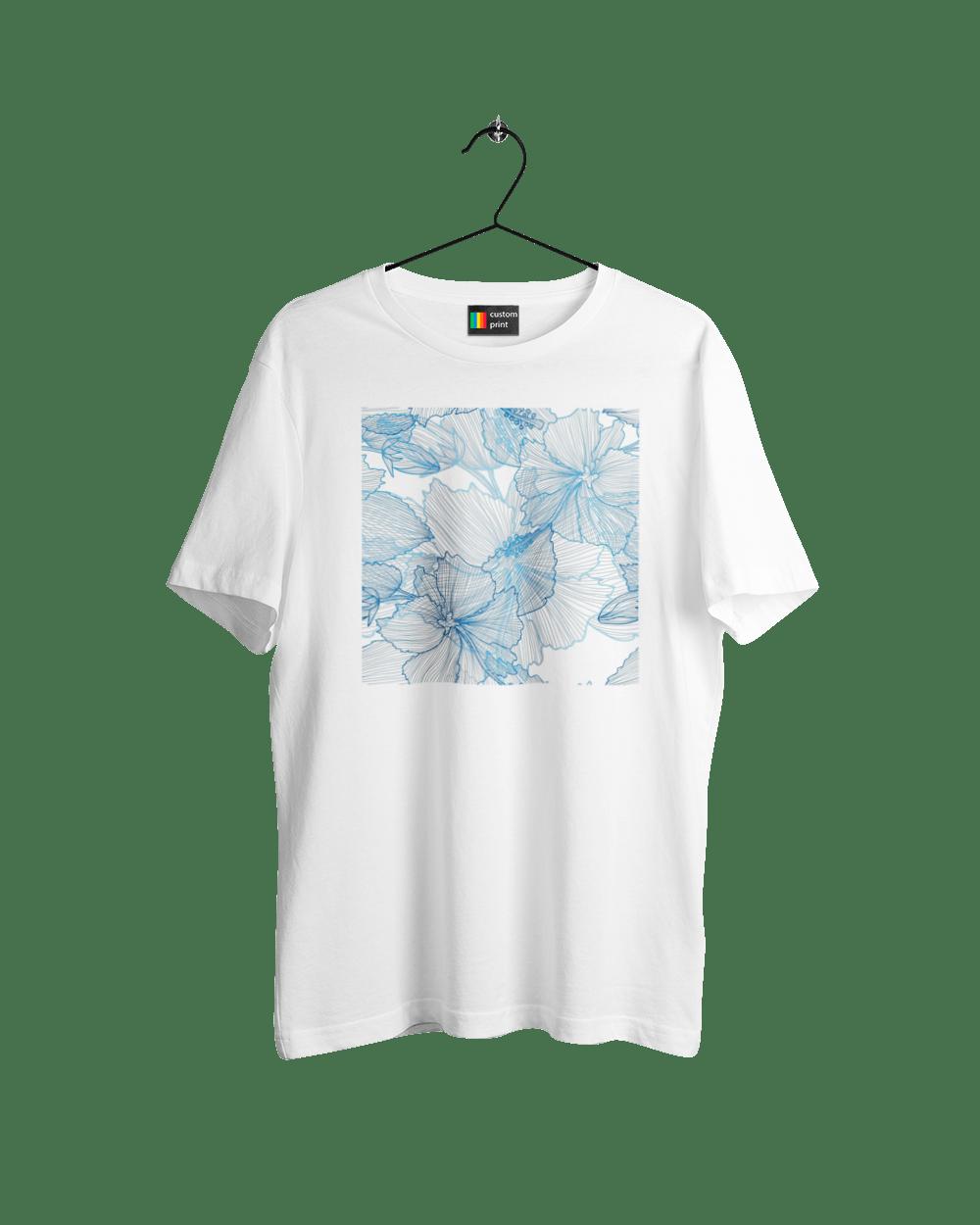Блакитні Візерункові Квіти