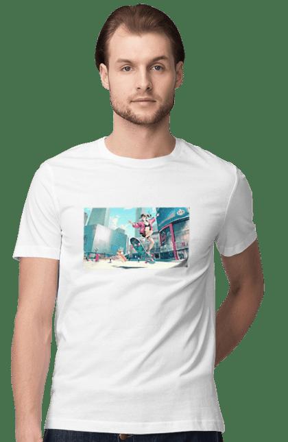 Футболка чоловіча з принтом Аніме. Аніме, комікс, мультик. CustomPrint.market