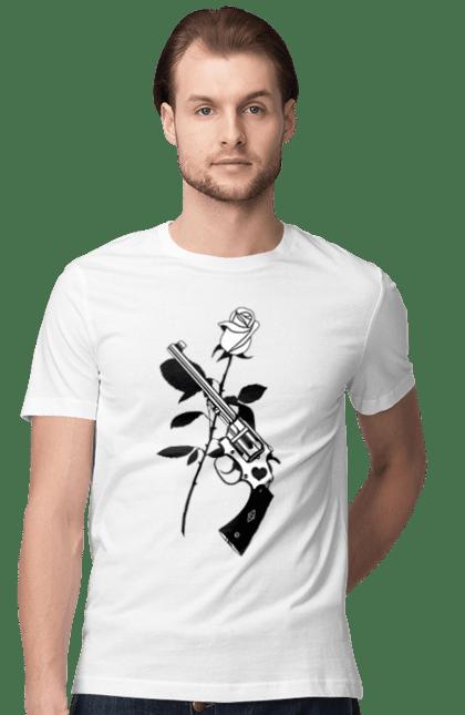 Рушниця І Роза Чорний