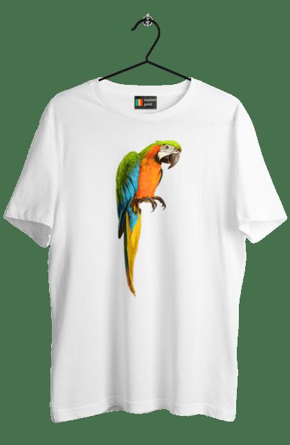 Футболка чоловіча з принтом Просто Папуга. Папуга, пташка. CustomPrint.market