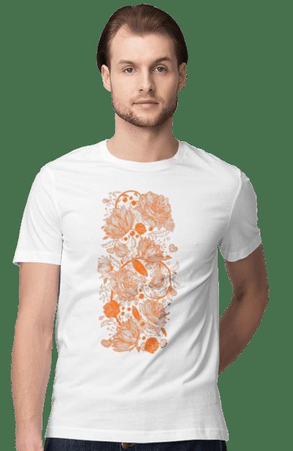 Візерункові Помаранчеві Квіти