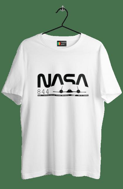 Футболка чоловіча з принтом Nasa Sr-71. Nasa. CustomPrint.market