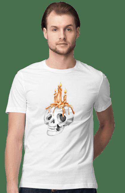 Свічка череп