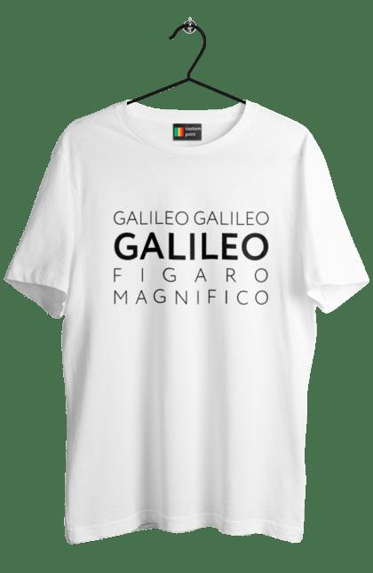 Футболка чоловіча з принтом Галілео. Галилео, група, музика, рок. CustomPrint.market