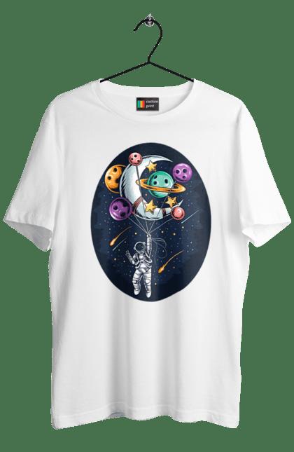 Космонавт Літає На Повітряних Планетах