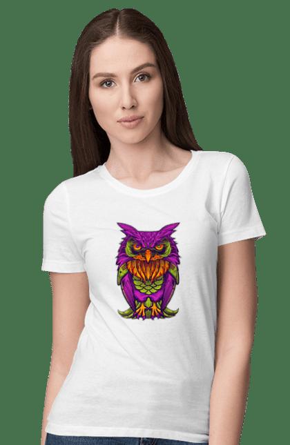 Фіолетова Сова