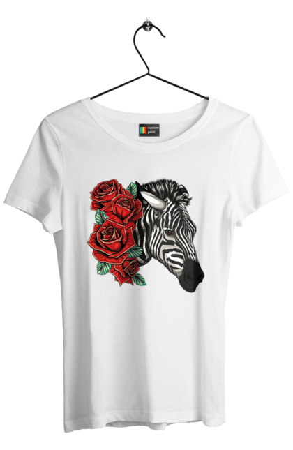 Зебра І Троянди