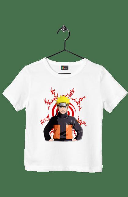 Футболка дитяча з принтом Наруто 3 CustomPrint.market